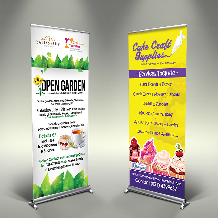 Roll Up Banners, Roll Up Display, Pop Up Dsiplay